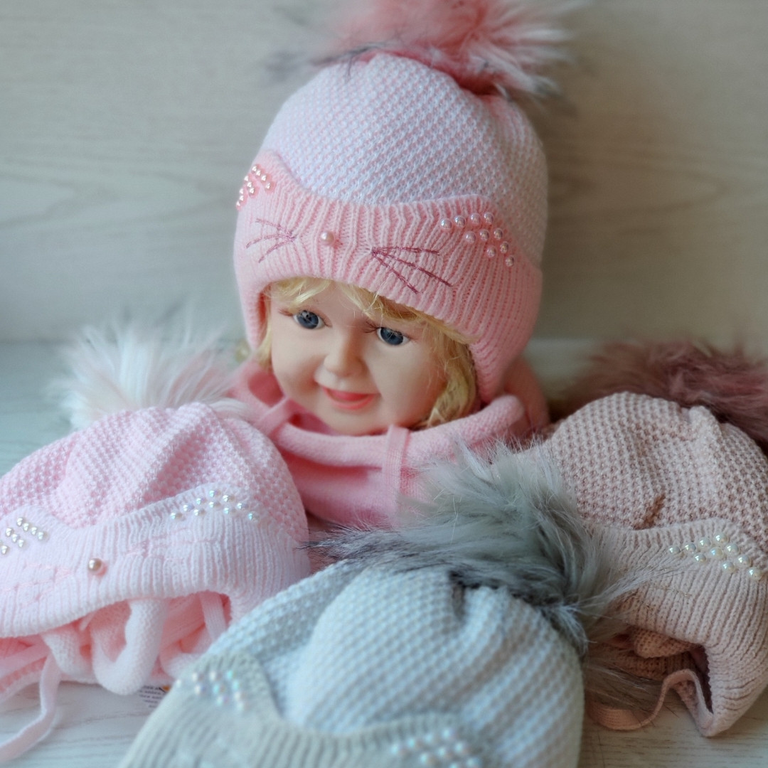Комплект для девочки (шапка+хомут) Ambra O26