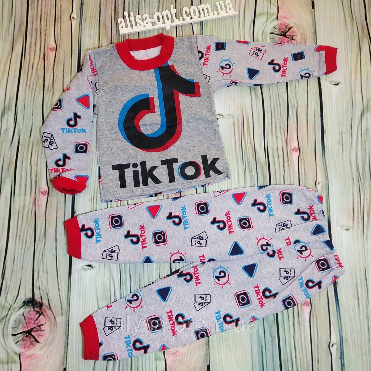 Дитяча піжама Тік Ток начіс