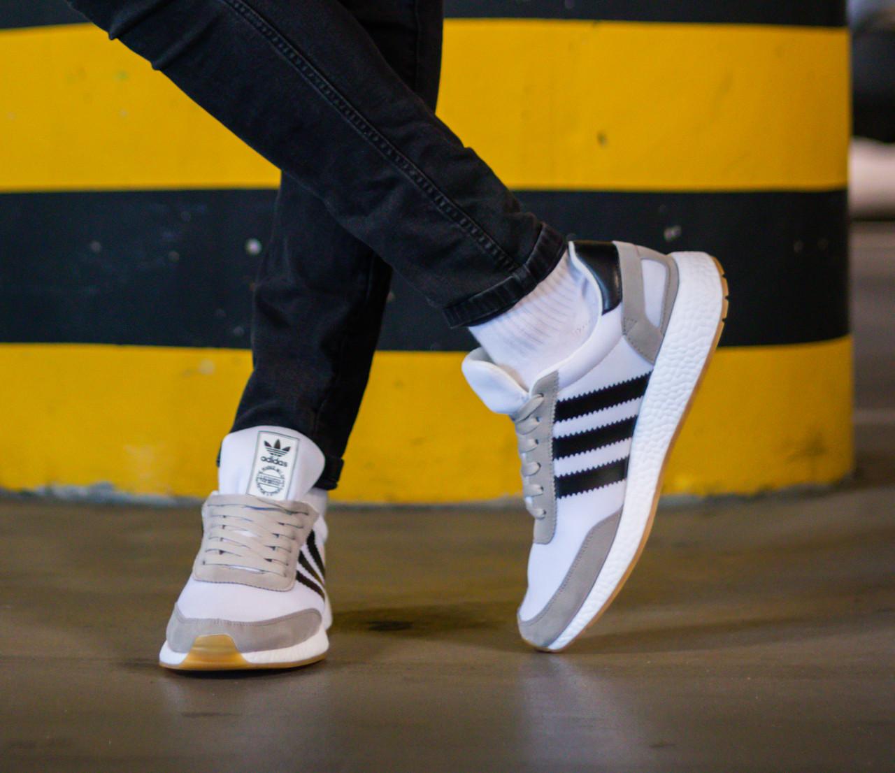 Кроссовки мужские Adidas Iniki Runner Footwear White 41
