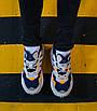 Кроссовки мужские Adidas Yung-96 Raw White Navy 41, фото 6