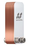 Пластинчатый паянный теплообменник Secespol  LA14-20-2-3/4 20 кВт