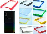 TPU Бампер Samsung Galaxy A90 A908 (прозрачный)