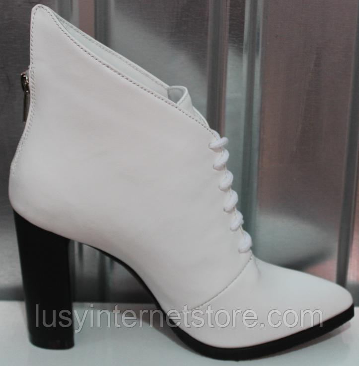 Ботинки женские кожаные от производителя модель РИ0940-2