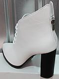 Ботинки женские кожаные от производителя модель РИ0940-2, фото 4