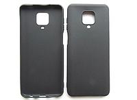 Силиконовый чехол Xiaomi Redmi Note 9 Pro (черный)