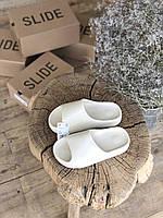 Женские тапки Adidas Yeezy Slide Bone / Адидас Изи Слайд Боун