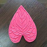 """Молд """"Лист Антуриум средний"""" 18х14,5 см для ростовых цветов, фото 3"""