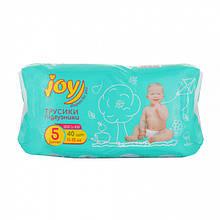 Подгузники-трусики Joy Run and Fun размер 5, 11-15 кг, 40 шт