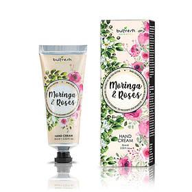 Крем для рук с маслом моринги и натуральным розовым маслом Moringa & Roses