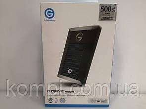 Зовнішній жорстку диск G-Technology G-DRIVE mobile PRO SSD 500GB Thunderbolt 3