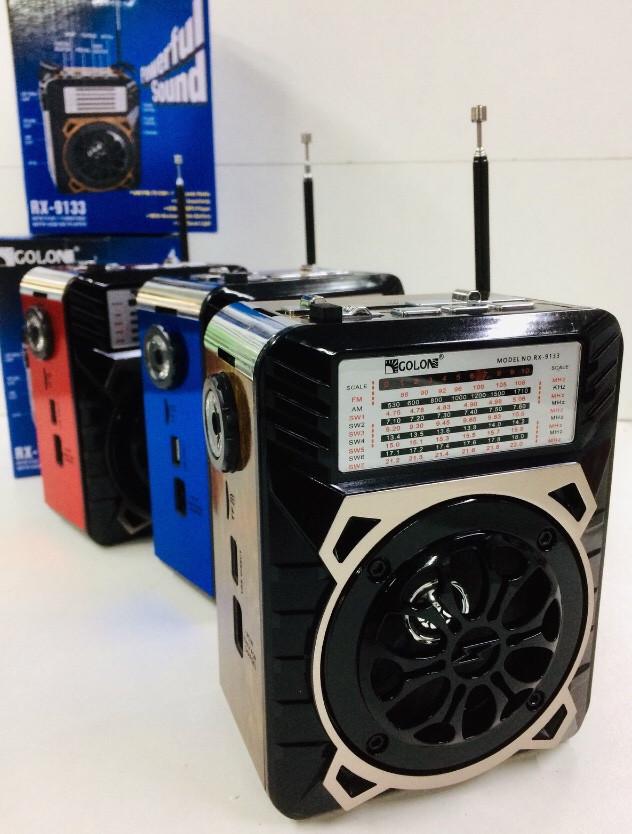 Радиоприемник GOLON-RX -9133/ USB+SD (24 шт/ящ)