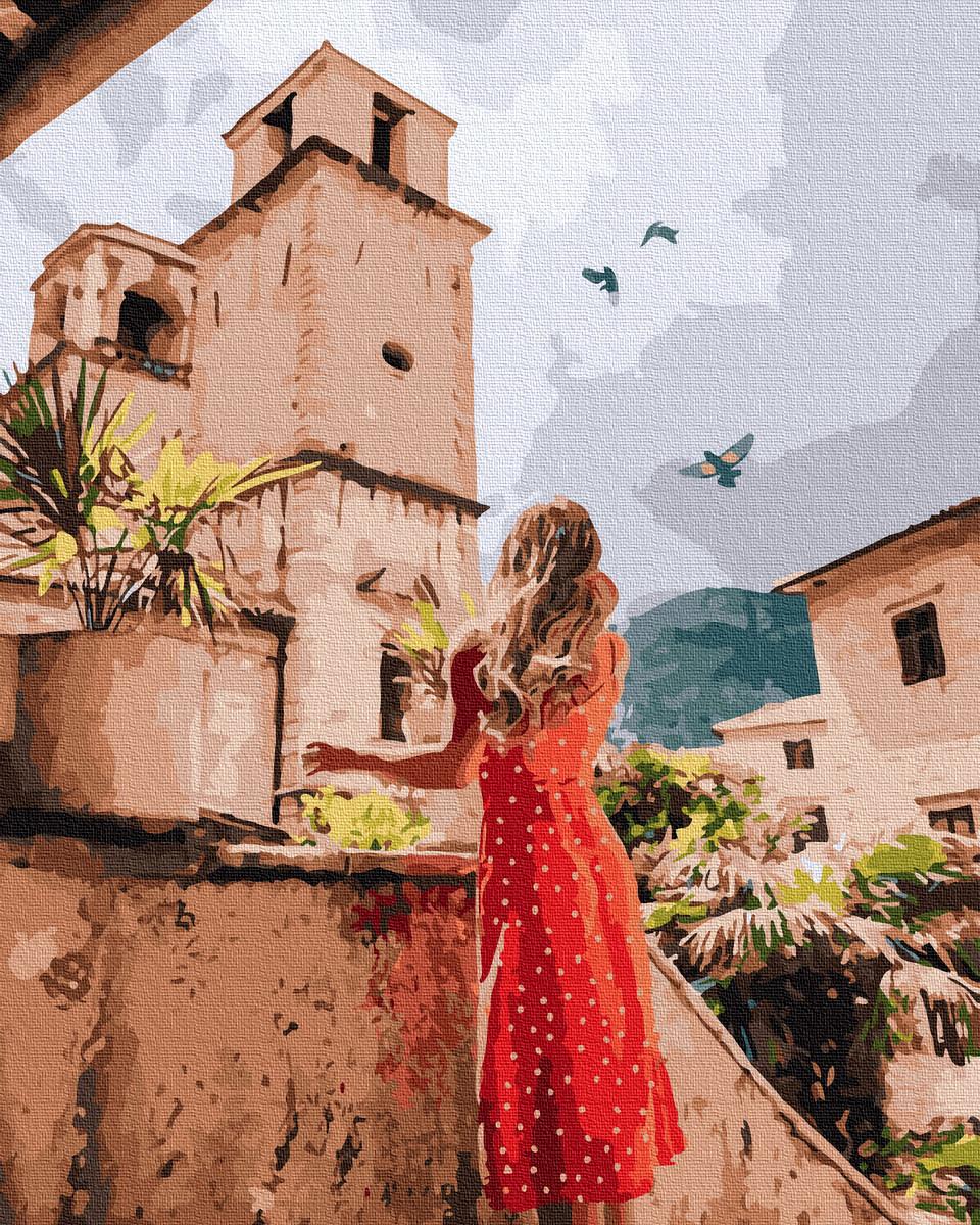 Картина по номерам Лето, Италия  без коробки, Никитошка, 40*50 см