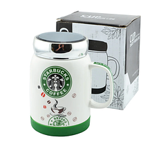 Чашка StarBucks 350 мл Керамическая кофейная чашка Кружка StarBucks кофейная, Чашка для кофе!