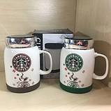 Чашка StarBucks 350 мл Керамическая кофейная чашка Кружка StarBucks кофейная, Чашка для кофе!, фото 6