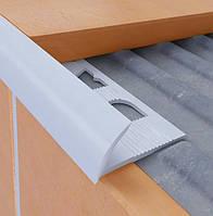 Плиточный профиль ПВХ 7 мм,8 мм,9 мм,10 мм,12 мм (Наружный)