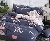 Полуторное постельное белье ранфорс R7622 с комп. ТМ ТAG