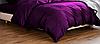 """Постельное белье двуспальный модный практичный качественный комплект из Бязи """"Голд"""" Ранфорс Фиолетовый. - Фото"""