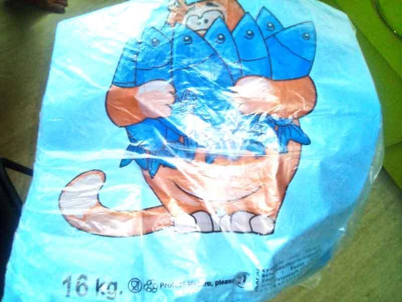 Пакет майка 30х50см Кот 100шт
