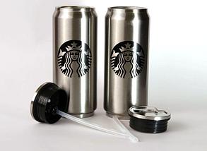 Термокружка Starbucks 500 мл нержавійка, фото 3