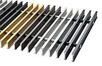 Решетка Алюминиевая ширина 230 мм Carrera для внутрипольных конвекторов S C aluminiy_230