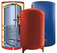 Бак аккумулятор горячей воды ЕАI-10-1000 л (1 змеевик)