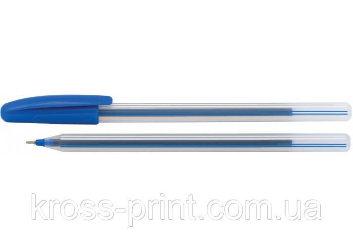 Ручка масляна ECONOMIX LINE 0,7 мм, пише синім