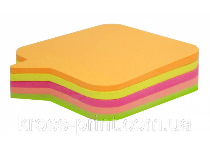 """Стікери """"Діалог"""" Economix, 45х50, 4 кольори, 80 аркушів"""