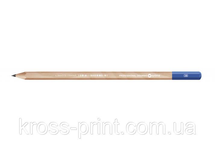 Олівець чорнографітний Optima 3B