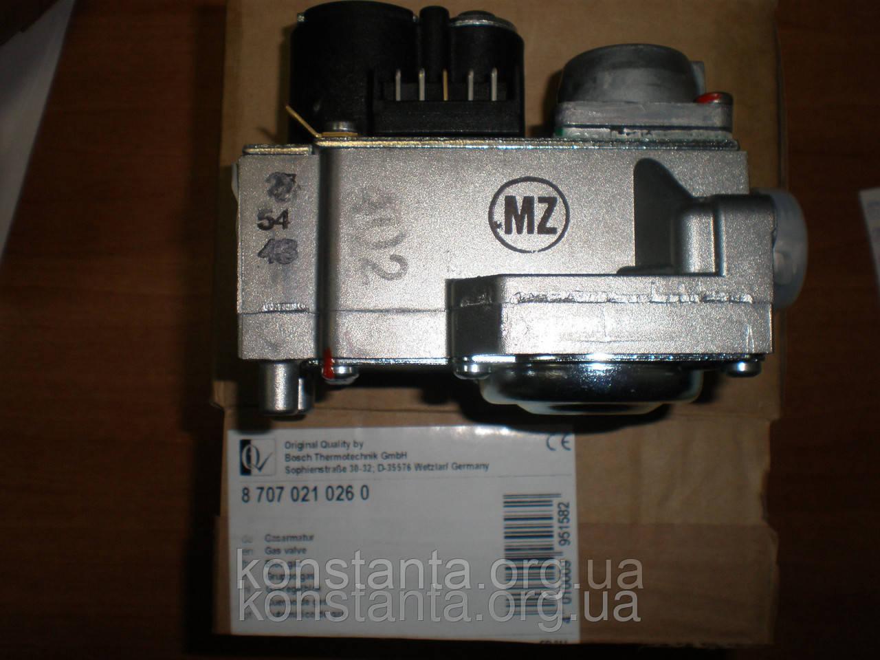 Клапан газовый для котлов Bosch-Junkers  ZW/ZS23-1KE/AE - Интернет-магазин KONSTANTA в Харькове