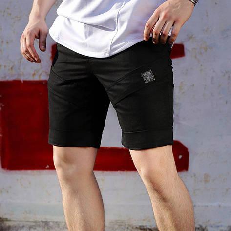 Шорты мужские черные бренд ТУР модель Чироки (Cherokee)  размер S, M, L, XL, XXL M, фото 2