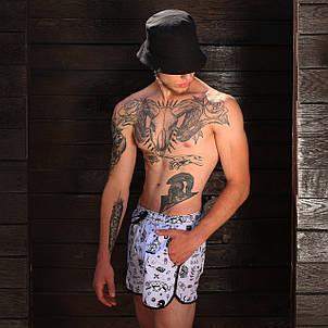 Плавки мужские с принтом  модель Портаки  ( Tatoo) размер S, M, L, XL,XXL, XXХL, фото 2