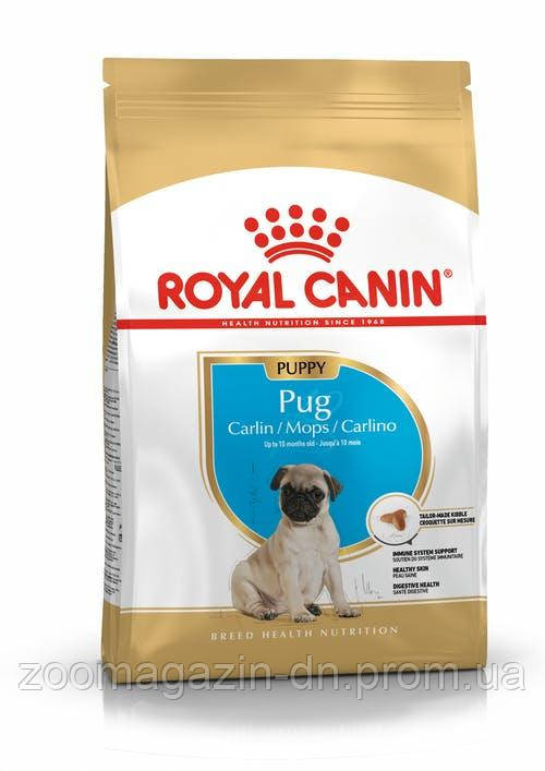 Royal Canin Pug PUPPY Корм для щенков (Роял Канин мопс паппи) 1,5 кг