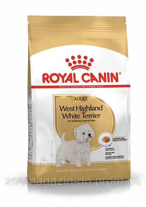 West Highland White Terrier Adult (Westie Adult) для собак породы вест-хайленд-уайт-терьер, 3 кг
