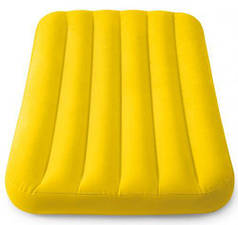 Матрас надувной (желтый)