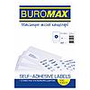 Этикетки самоклеющиеся 2шт (100 листов) Buromax ВМ.2813