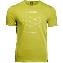 Футболка чоловіча Turbat 7 Summits S Green SKL35-254121