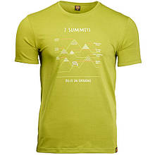 Футболка чоловіча Turbat 7 Summits XL Green SKL35-254269
