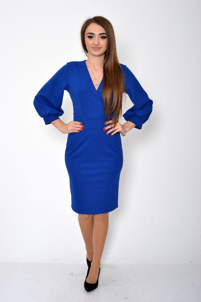 Платье женское 119R459 цвет Электрик