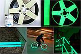 Світна фарба по металу AcmeLight Metal бежева із зеленим світінням 1,5 л, фото 2