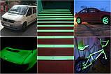 Світна фарба по металу AcmeLight Metal бежева із зеленим світінням 1,5 л, фото 3