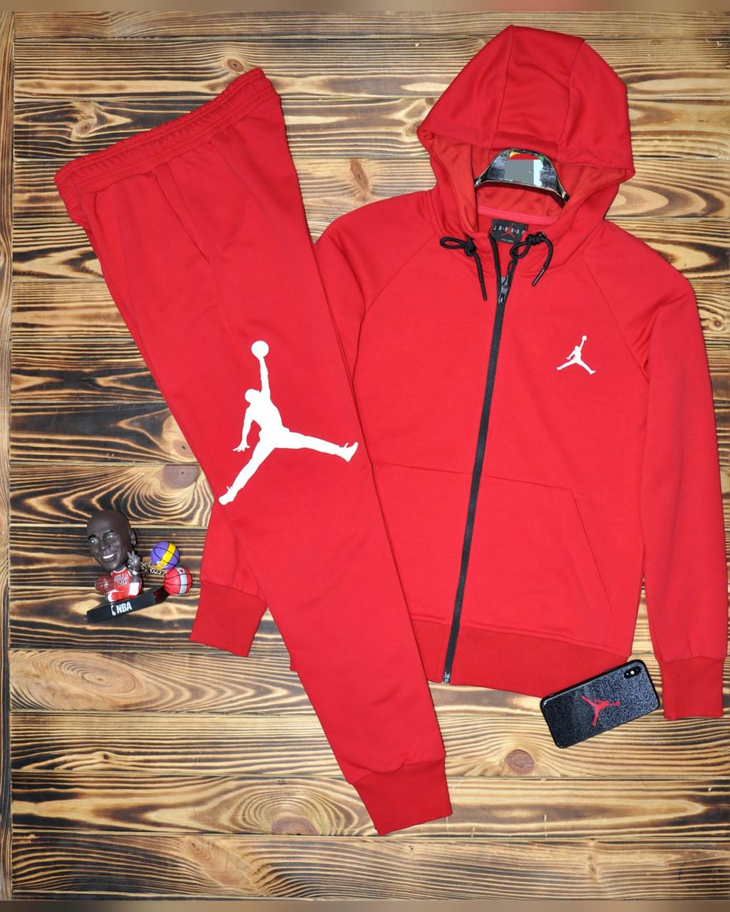 Женский спортивный костюм Jordan, трехнитка (Реплика)