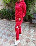 Женский спортивный костюм Jordan, трехнитка (Реплика), фото 2