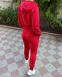Женский спортивный костюм Jordan, трехнитка (Реплика), фото 3