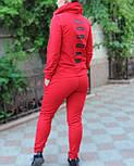 Женский спортивный костюм Jordan, трехнитка (Реплика), фото 4