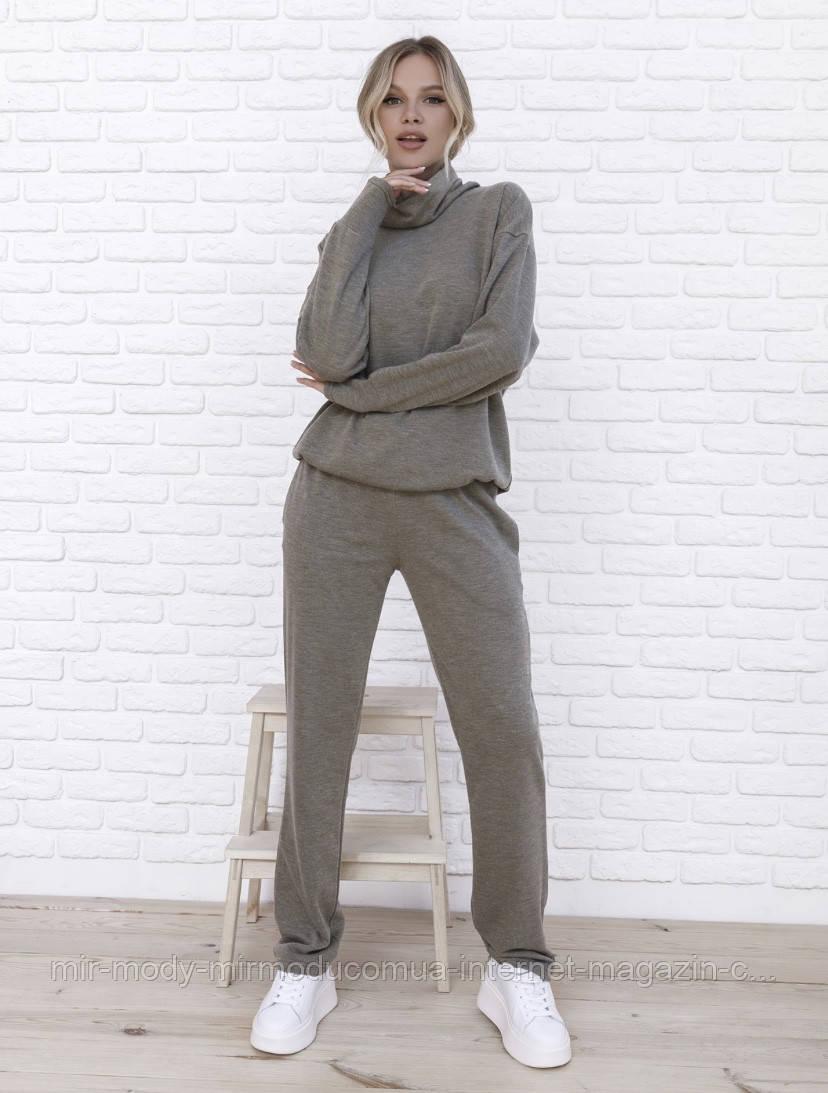 Женский  брючный костюм Ангора арт 205454. размер С,М,Л (мд-о 520)
