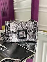 Женская сумка с тиснением рептилия код 7-5922, фото 1