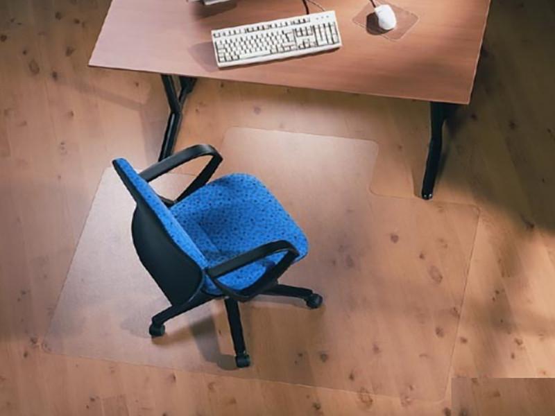 Защитный ковер под кресло прозрачный 122х135см Германия. Толщина 2,9мм