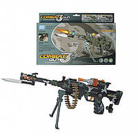 "Пулемет ""Combat Gun"", свет, звук (DF-9218B)"