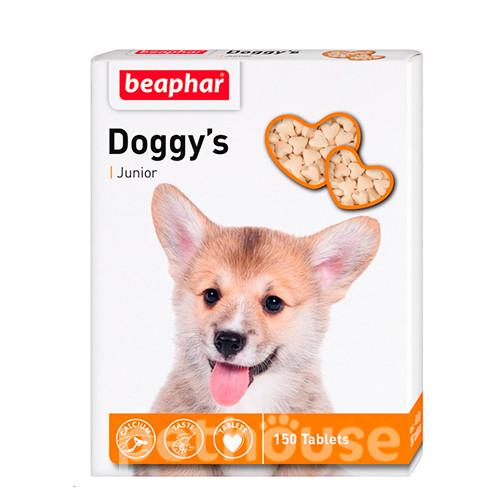ДОГГИС ЮНИОР БЕФАР DOGGY'S JUNIOR BEAPHAR витаминизированное лакомство для щенков, 150  таблеток