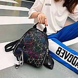 """Женский рюкзак """"ПАУТИНКА"""" школьный портфель черный, фото 2"""